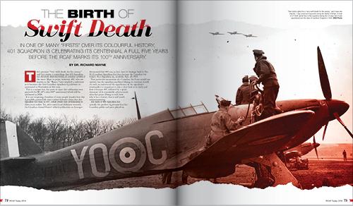 BIRTH OF SWIFT DEATH