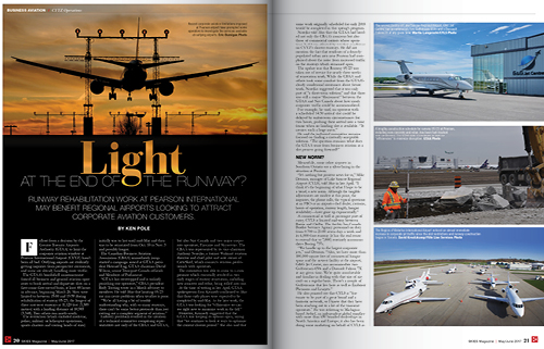 LIGHT AT THE END OF THE RUNWAY?