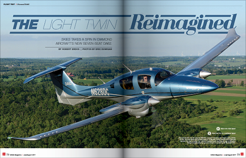 COVER STORY:  THE LIGHT TWIN REIMAGINED