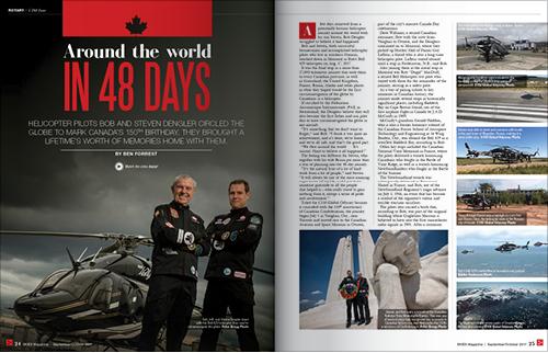 AROUND THE WORLD IN 48 DAYS