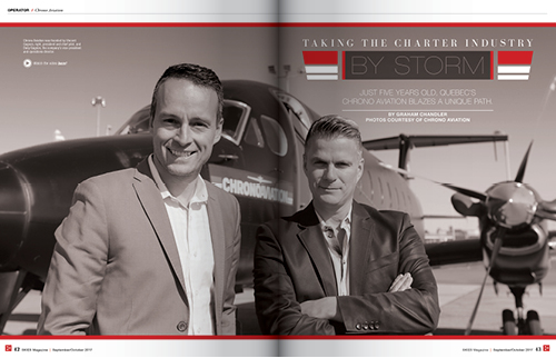 TAKING THE CHARTER INDUSTRY BY STORM
