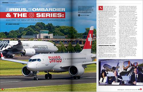 AIRBUS, BOMBARDIER & THE C SERIES