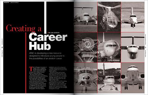 Creating a career hub