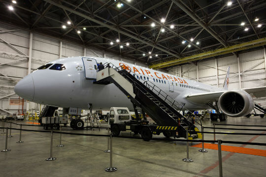 Air Canada receives third Boeing 787-9 Dreamliner - Skies Mag