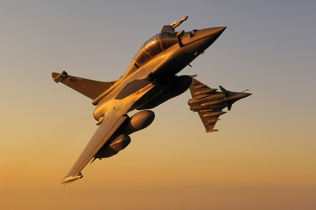 Rafale and F-35 - Skies Mag