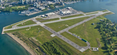 The Noise Management Report follows on the heels of the 2015 Noise Exposure Contour compliance Report conducted by Transport Canada that confirms that Billy Bishop Airport continues to operate within its strict Noise Exposure Forecast (NEF) as required under the Tripartite Agreement. PortsToronto Photo