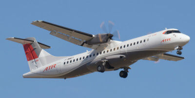 SKYLENS will enable ATR-72/42 regional turboprops to take-off and land in low visibility conditions