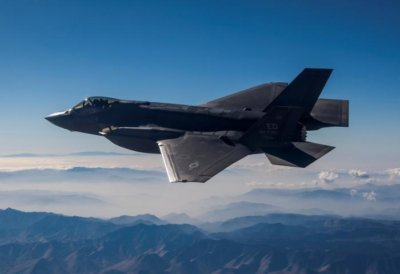 F-35 conventional takeoff and landing variant in flight