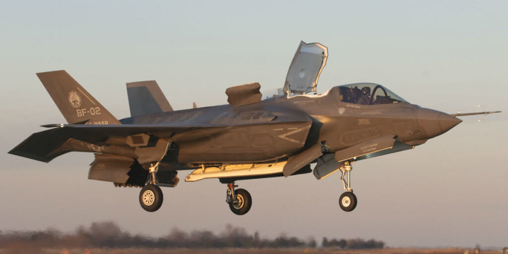Magellan Aerospace Corporation will continue producing F-35 Lightning II horizontal tail assemblies under an agreement with BAE Systems. Lockheed Martin Photo