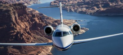 Gulfstream G280 in flight