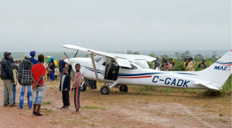 A Cessna 182 belonging to MAF Canada