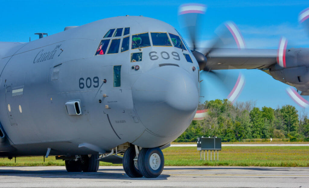 Hercules model J aircraft