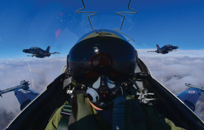 RCAF's fighter pilot training process is the longest and most challenging of all of its pilot training programs