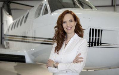 René Banglesdorf, CEO and founder of Austin, Texas-based jet broker Charlie Bravo Aviation