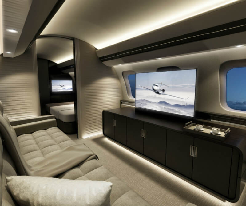 Ka band technology will be available to all Bombardier Global customers, both new and retrofit. Bombardier Photo