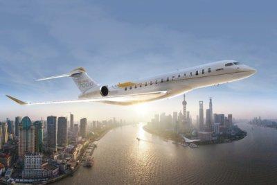 Bombardier Global 7000 aircraft