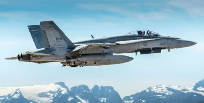 A single-seat CF-188 Hornet fighter jet from 401 Tactical Fighter Squadron in Cold Lake, Alta., crashed on Nov. 28 during a training mission. The pilot did not survive. Stuart Sanders Photo