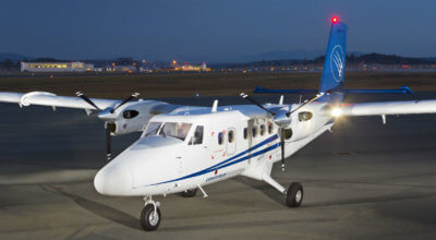 Caverton's second Twin Otter Series 400 is scheduled for delivery in the first quarter of 2017, and will provide essential services in support of the company's contract with the Cameroon Oil Transportation Company. Viking Photo