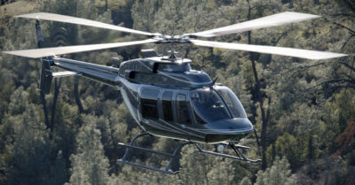 Donaldson offers 16 Transport Canada certified filtration systems for a range of Airbus, AgustaWestland, Bell, MD Helicopters and Sikorsky helicopters; 14 are certified to operate in falling and blowing snow conditions. Donaldson Photo