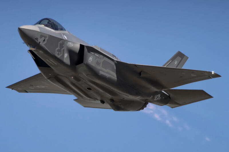 F-35 in flight
