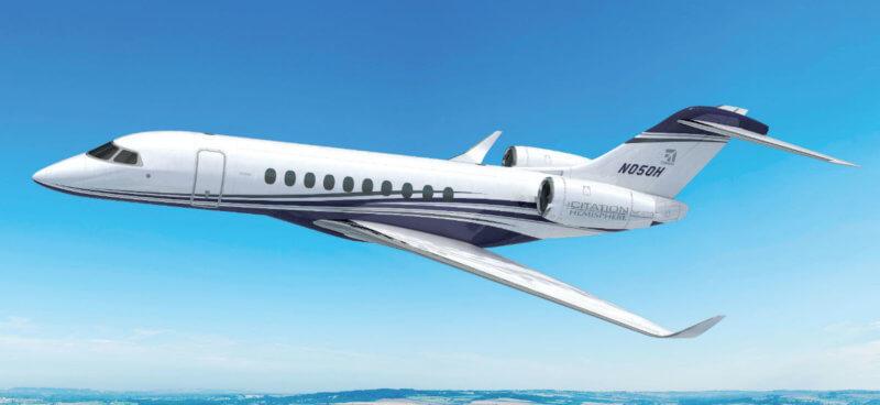 Textron Aviation announced key suppliers to its new Citation Hemisphere program at an NBAA press conference. Textron Aviation Photos
