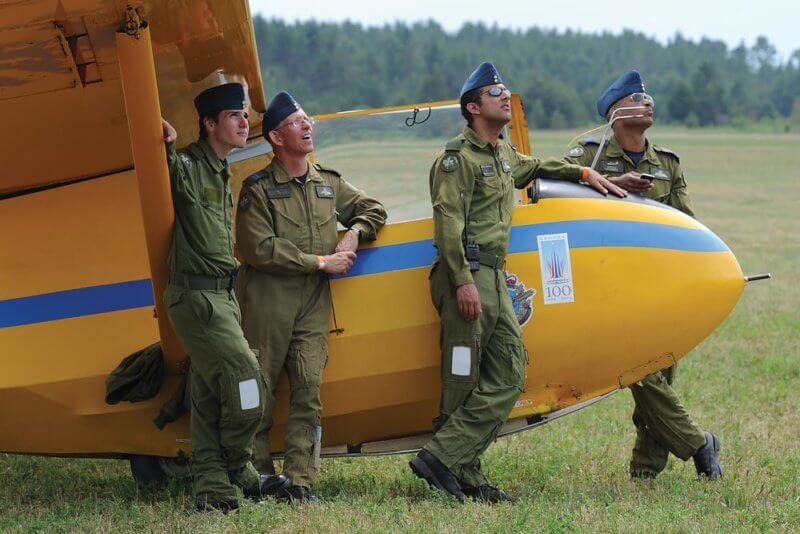 Since the gliding program was established in 1965, it has become an integral part of the air cadet experience. To date, more than 15,000 cadets have completed the course. Eric Dumigan Photo