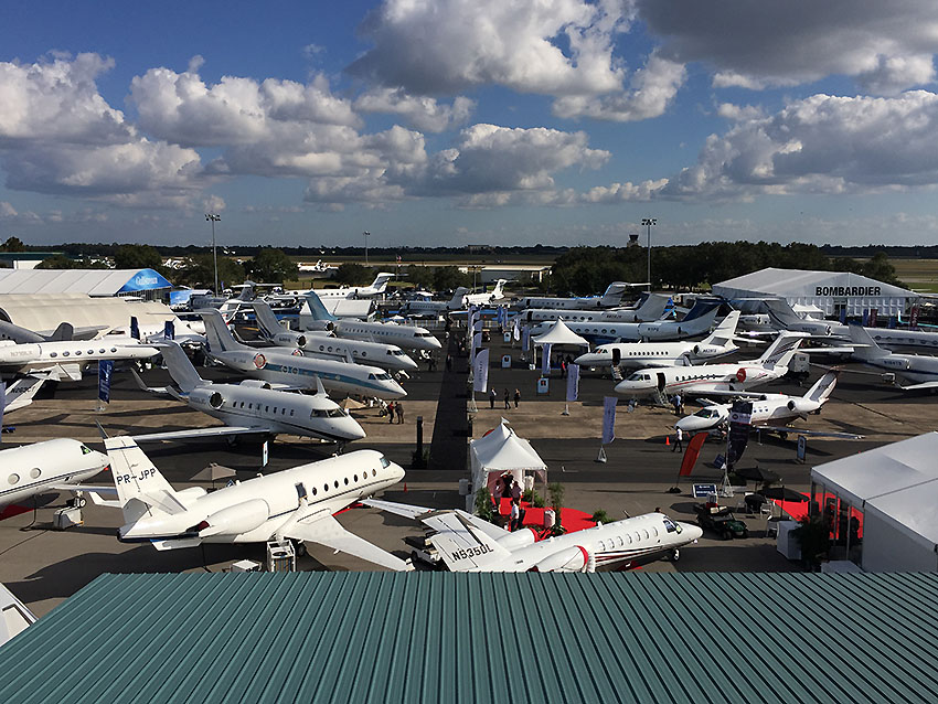 The Florida sun shone on bizav's largest event, the 2016 National Business Aviation Association's Business Aviation Convention and Exhibition (NBAA-BACE), which wrapped up on Nov. 3.