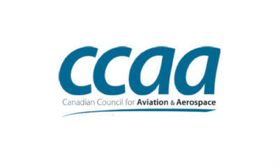 Canadian Council for Aviation & Aerospace logo
