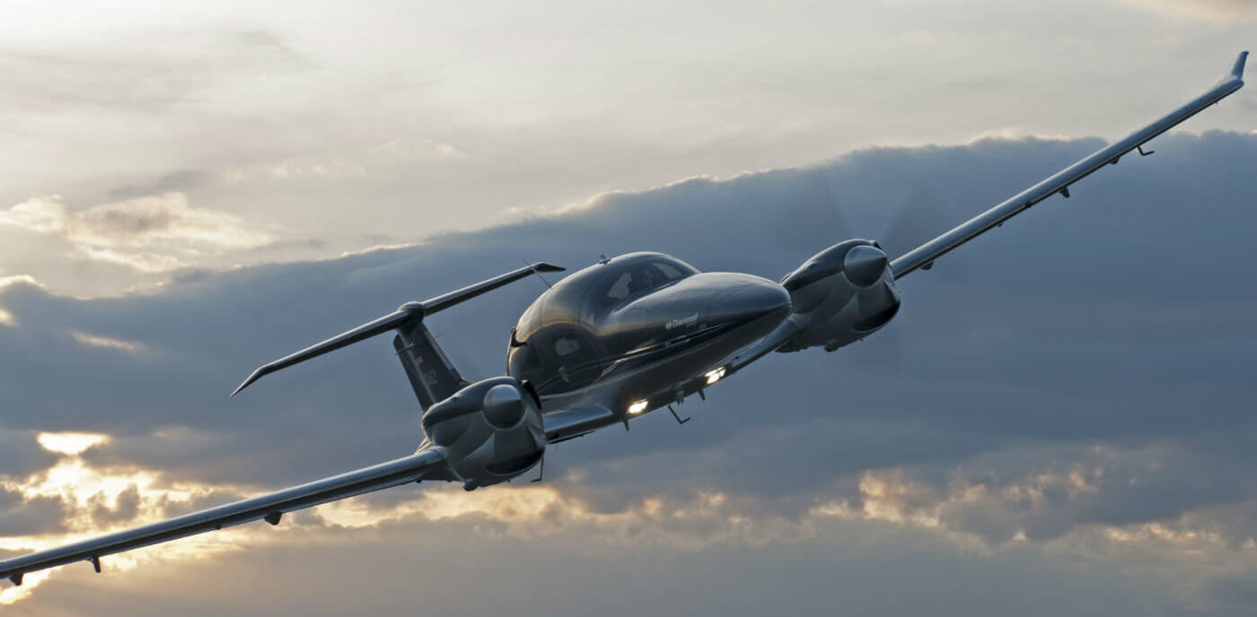 The luxurious five- to seven-seat DA62 twin will now be built in Canada, according to the new deal announced between Diamond and investor Wanfeng Aviation (Canada) Inc. Diamond Aircraft Photo