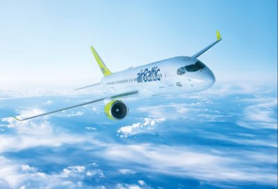 The modernized fleet of CS300 aircraft will ensure growth of the carrier with at least 10 additional routes and 16 per cent more tickets on sale in 2017. AirBaltic Photo