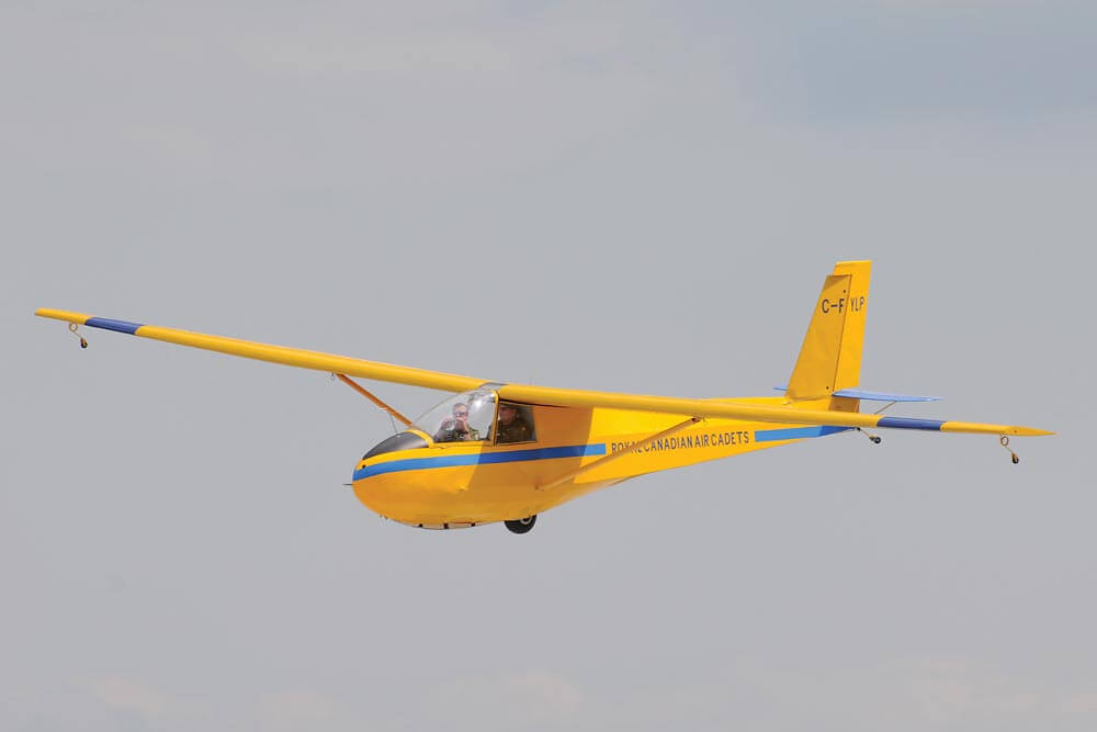 The RCAC gliding program is the largest of its kind in the world.