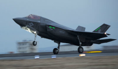 The F-35B Lightning II aircraft arrived in Japan for the first time in program history on Jan. 18, 2017. U.S. Marine Corps Photo