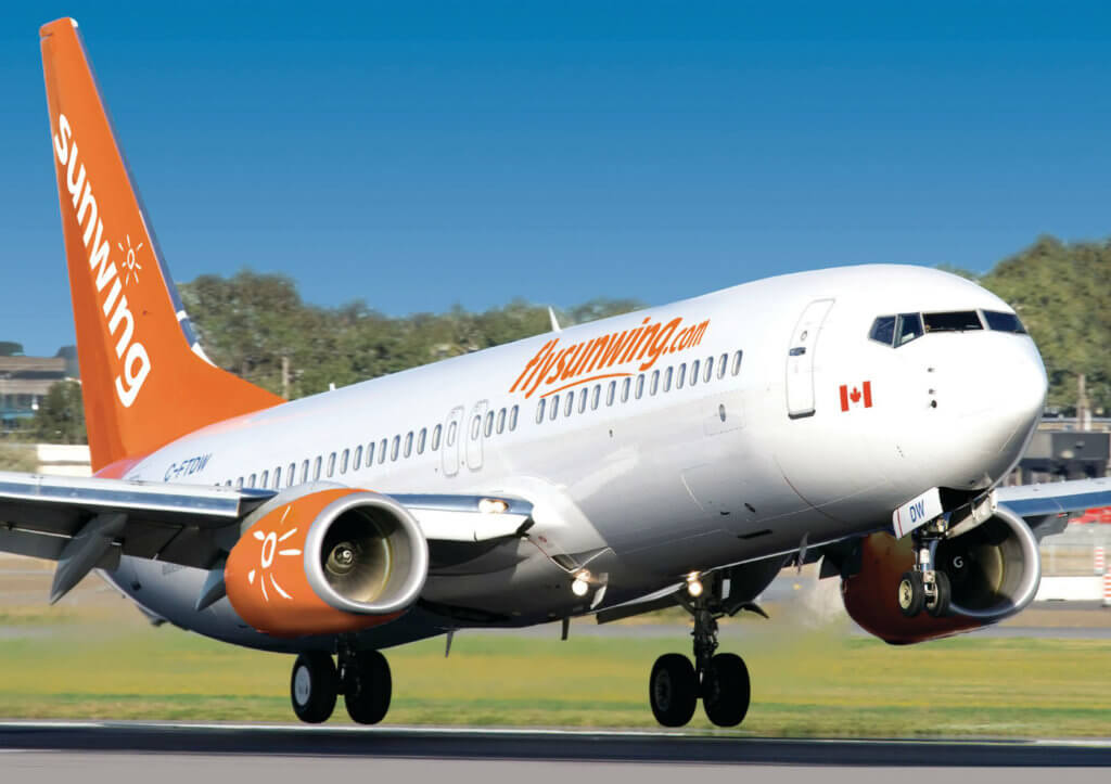 Sunwing said it will be operating almost 400 repatriation flights at a cost of more than $26 million.