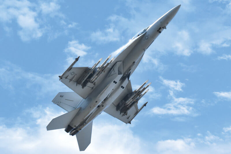 With 76 aging CF-188s operating at a serviceability rate of roughly 50 per cent, Canada's current ability to meet its NATO and NORAD obligations simultaneously is severely limited. Enter the interim fleet of 18 Boeing F/A-18 Super Hornets. Jeff Wilson Photo