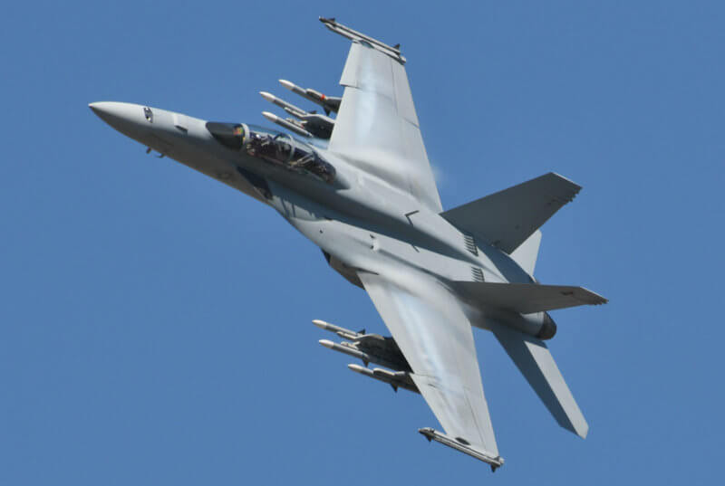 "When Defence Minister Harjit Sajjan unveiled the proposal Nov. 22, he told reporters that the Super Hornets would be an ""interim"" stopgap as the government continues to consider options for replacing the aging legacy fighters, which it expects to keep in service for nearly another decade. Jeff Wilson Photo"