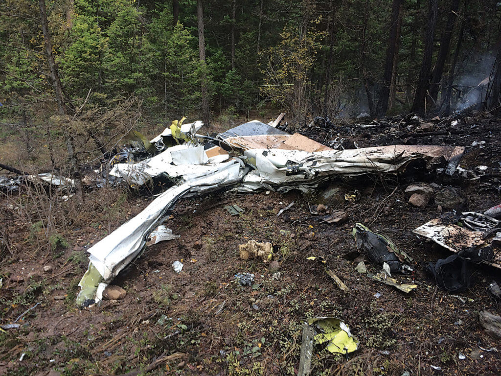 A high-profile October 2016 crash involving a 1974 Cessna Citation near Kelowna, B.C., has renewed the call for cockpit voice and flight data recorders in smaller aircraft, including business jets. TSB Photo