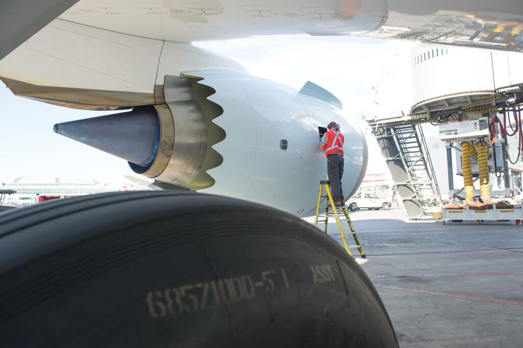 The Dreamliners are 20 per cent more fuel efficient than the 767s, which have been transferred to Air Canada's Rouge arm.