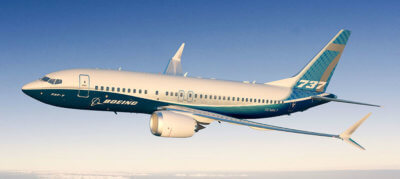 Boeing is celebrating several program milestones from 2016, including the first flight of its new 737 MAX aircraft. Boeing Image