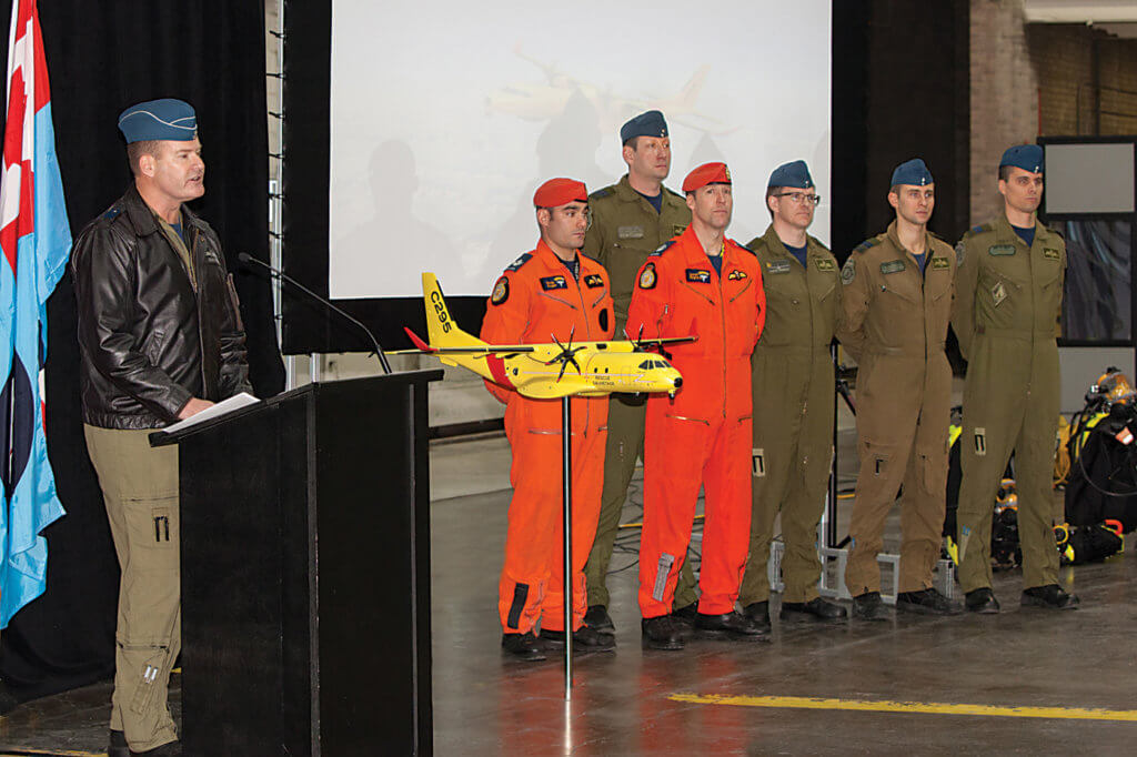 RCAF Commander LGen Mike Hood told press conference attendees that with the C295W,