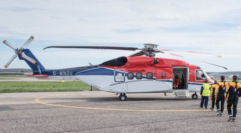 A Dec. 28 incident involving a CHC-operated S-92 has led to new inspection requirements for S-92 tail rotor pitch change shaft assemblies. CHC Photo