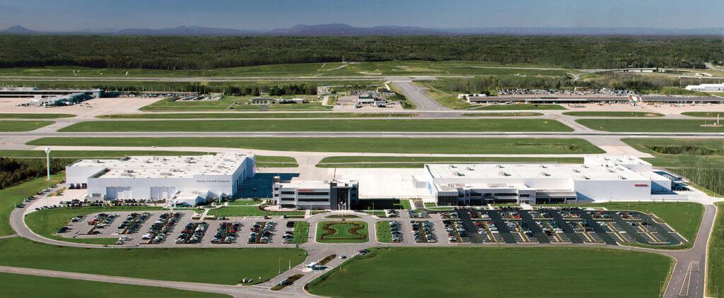 Honda's pristine 680,000-square-foot facility in Greensboro, N.C., demonstrates Honda's commitment to aviation.