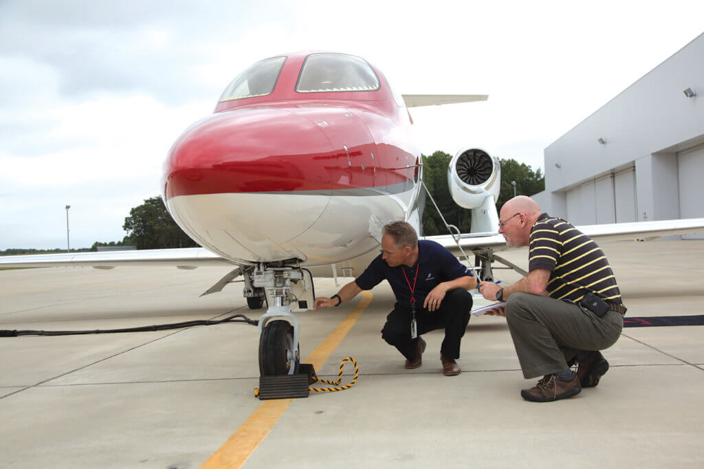 The pre-flight inspection revealed an airplane with spectacular fit and finish. Systems were simple and accessible.