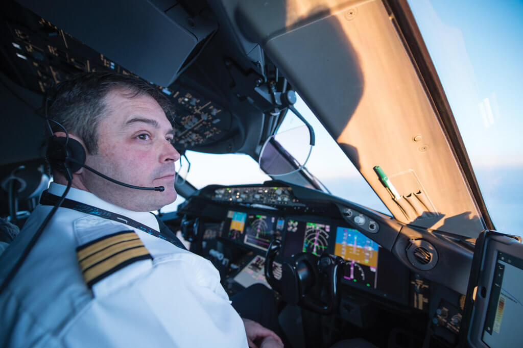 Pilots are impressed with the Dreamliner, which cruises at 13,106 metres (42,998 feet), putting it above most of the weather faced by other aircraft.