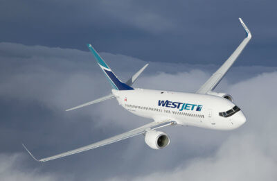 WestJet's flights to Phoenix-Mesa Gateway Airport from Calgary will be operated three times weekly on its Boeing 737 aircraft. WestJet Photo