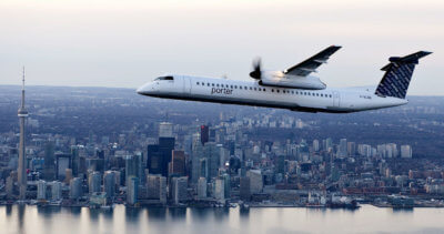 Porter Escapes packages are paired exclusively with Porter Airlines flights, making quick and convenient urban getaways possible, right from downtown Toronto. Porter Airlines Photo