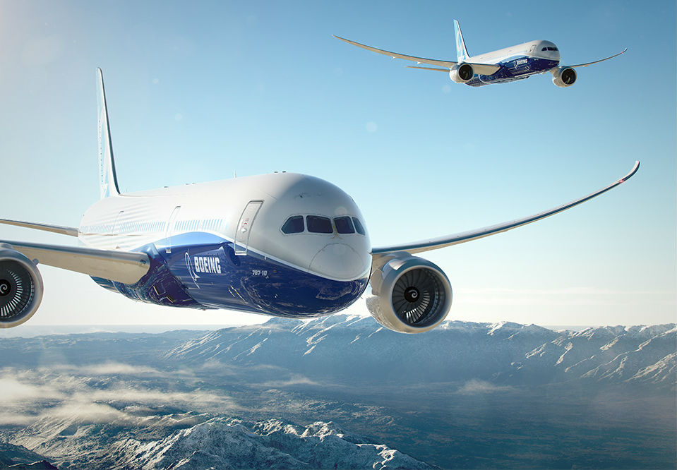 Boeing and Airbus' renewed competition will spark aircraft production to hit a record high, according to Frost & Sullivan. Boeing Photo