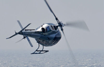 The H125 (pictured here) is the highest performance single-engine helicopter available and is a market leader for law enforcement, air medical transport, utility and corporate/VIP customers. Airbus Photo