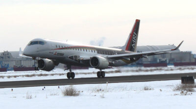 With a little help from Mother Nature and the use of dedicated flight test instrumentation, the team of global specialists obtained valuable data in order to analyze the airframe ice accretion and ice protection system performance. Mitsubishi Photo