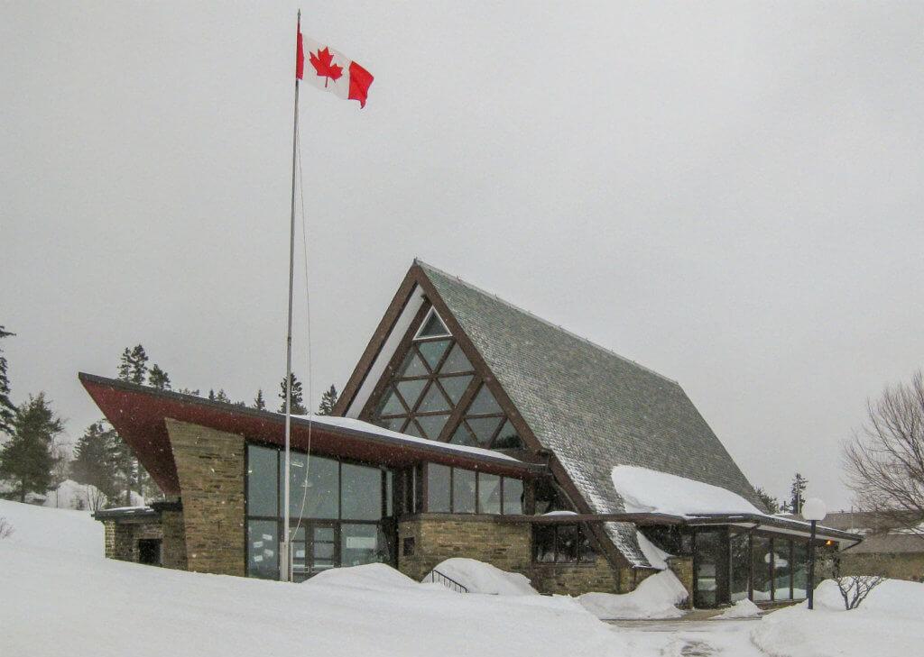 The Alexander Graham Bell Museum in Baddeck. Photo courtesy of Larry Milberry
