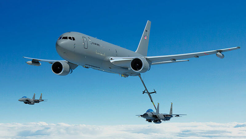 Boeing recently announced a US$2.1 billion award for 15 more air-to-air refuelling tankers as part of a low-rate initial production lot signed in August 2016, bringing the total LRIP production to 34 aircraft. Boeing Photo